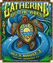 Gathering of the Vibes Poster Design 2014 Poster Artwork Danielle Figel